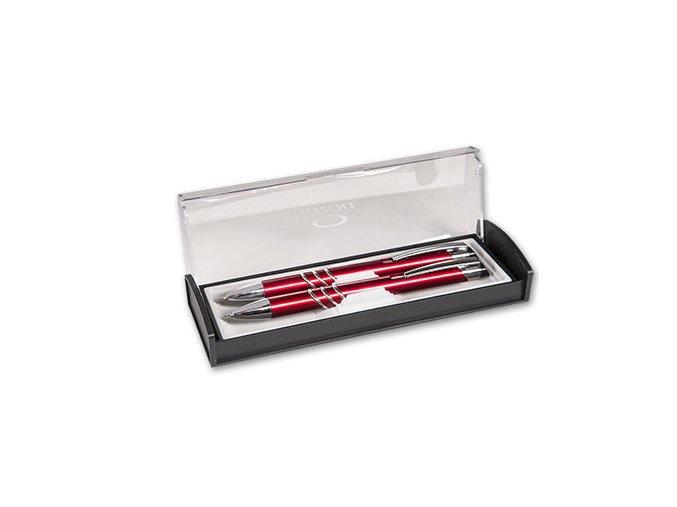 Sada Adriana Kuličkové pero + mikrotužka červená