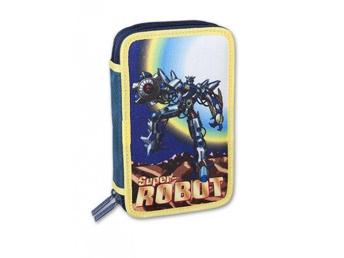 Penál 2 patrový Roboti - 2 druhy