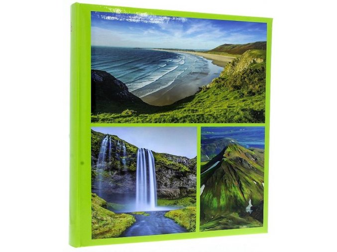 Fotoalbum 10x15/500foto B-46500S World zelené