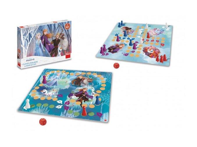 Člověče, nezlob se + Magický les 2v1 Ledové království II/Frozen IIspol. hry v krabici 33,5x23x3,5cm