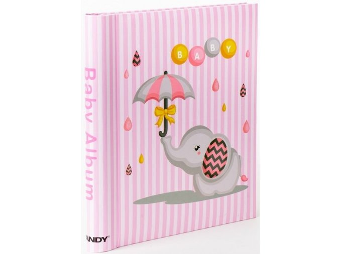 Fotoalbum samolepící DRS-20B Umbrella 2 růžové