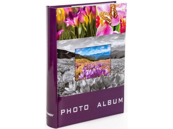Fotoalbum 9x13/300fotoB-35300S/3up Lea 1 vínové