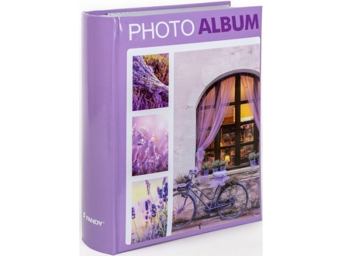 Fotoalbum 10x15/300foto B-46300/2S Terracotta 2 fialové