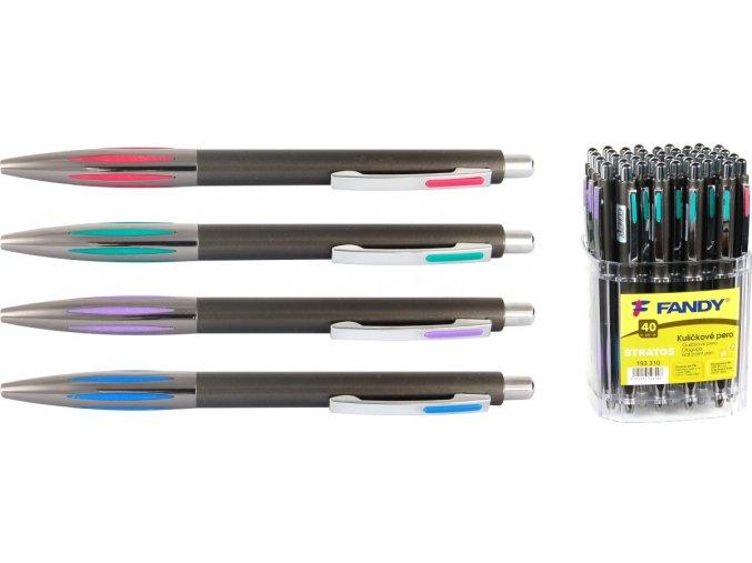 Kuličkové pero Stratos