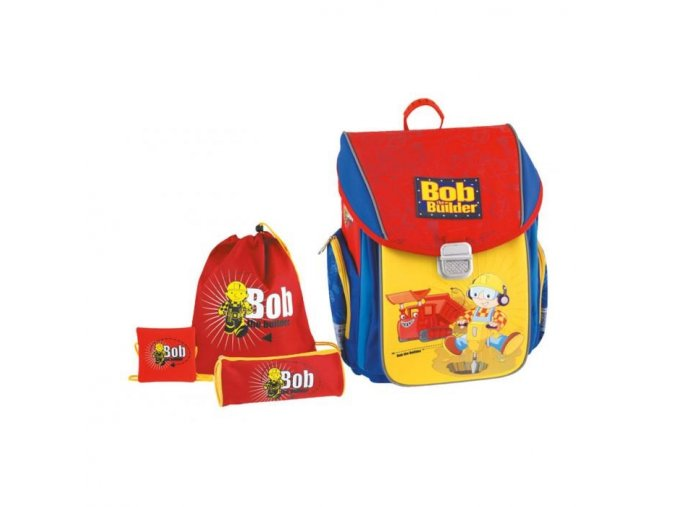Batoh školní s výbavou Bob stavitel 529