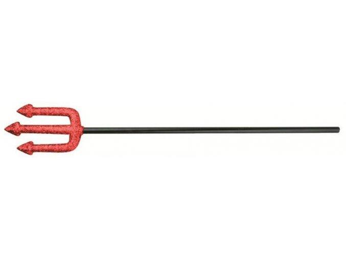Čertovské vidle s glitry 58cm 5861