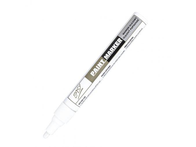PAINTMARKER - olejový popisovač bílý
