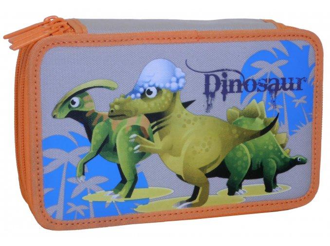 Penál 3 patrový Dino 1