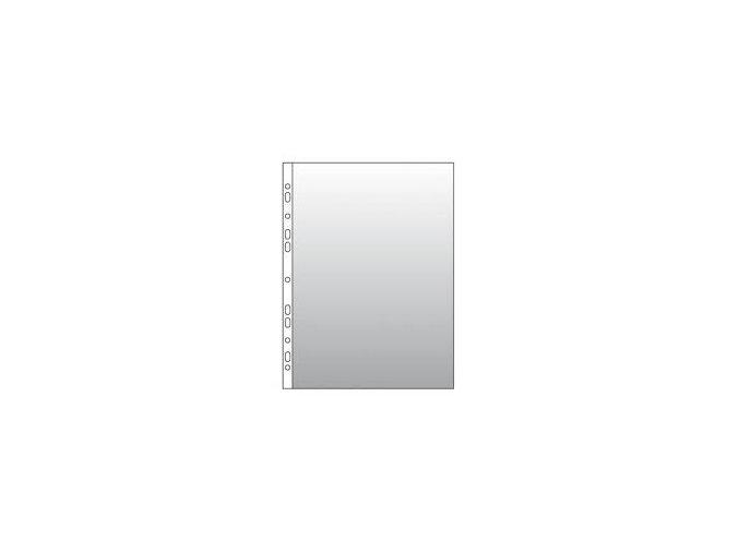 Rozšířený prospektový obal A4 CONCORDE, 32 mic., krupička, tvar U, 100ks