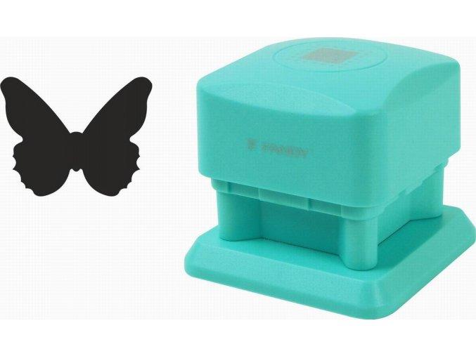 Děrovačka dekorační magnetická 25 mm motýl