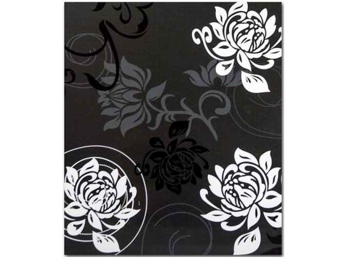 Fotoalbum 10x15/500foto B-46500S Black & White tmavý