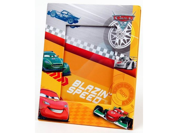 Fotorámeček 10x15 D46 H2 Disney Cars formule