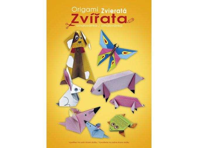Origami - Zvířata A4 - 2 POSLEDNÍ KUSY -