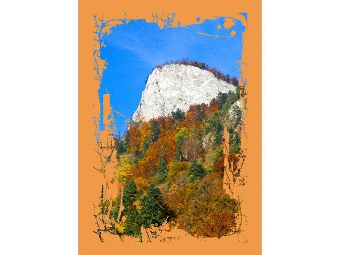 Fotoalbum 10x15/200foto B-46200S Natural oranžový