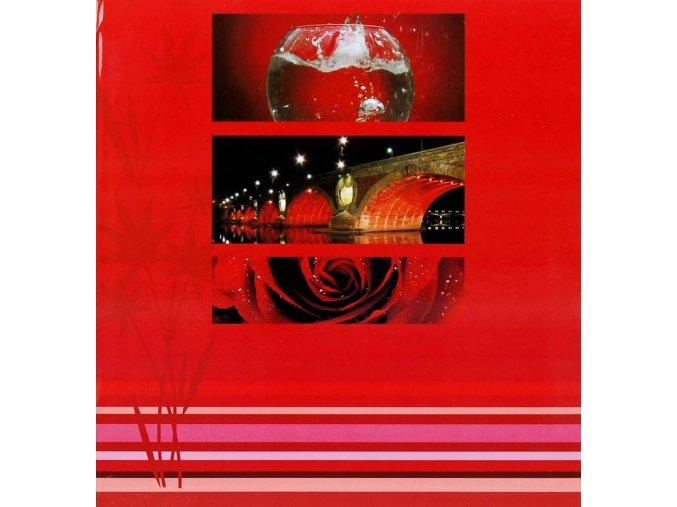 Fotoalbum 10x15/200foto B-46200S Brigdes červený