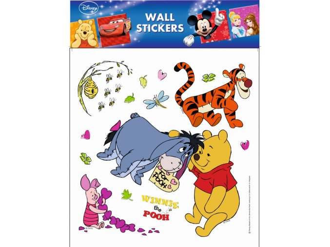 Samolepky na zeď Disney Medvídek Pú 21086 , 30x39cm