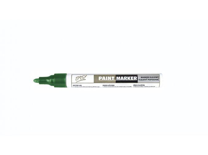 PAINTMARKER - olejový popisovač zelený