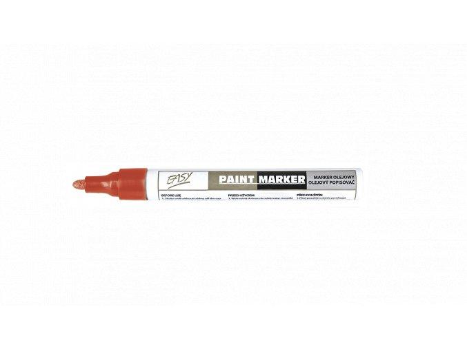 PAINTMARKER - olejový popisovač červený