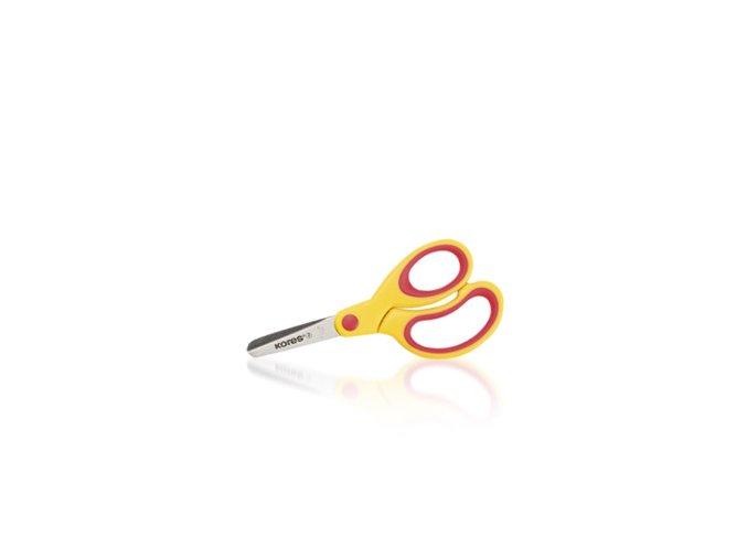 Kores dětské nůžky soft 130 mm - 2 POSLEDNÍ KUSY -
