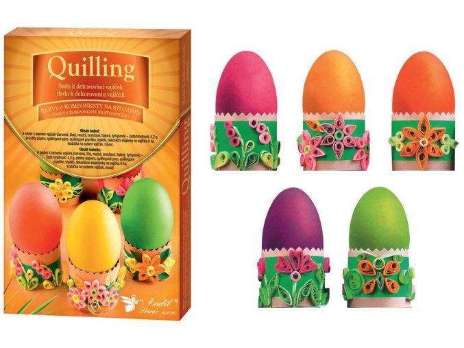Sada k dekorování vajíček - quilling 7703