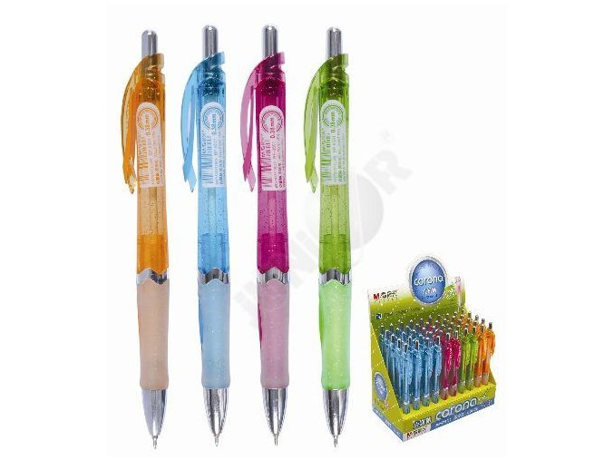 Kuličkové pero CORONA 0.38 mm Mix barev - 14 POSLEDNÍ KUSY -