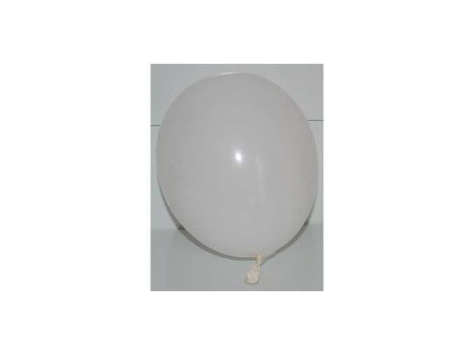 Balónek nafukovací bílý kulatý
