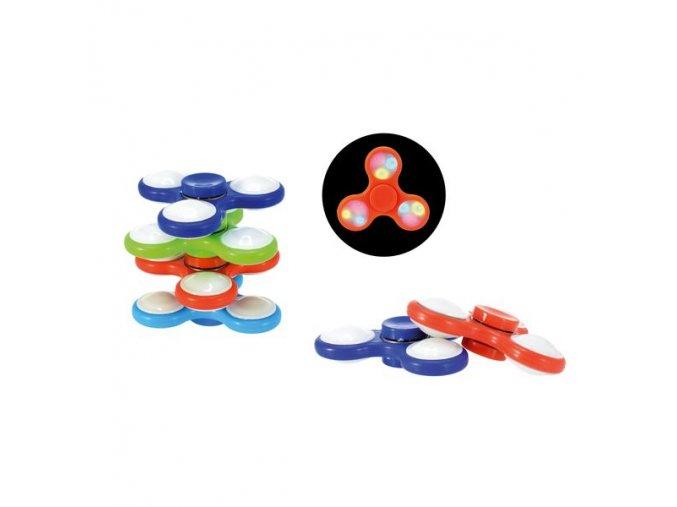 Fidget Spinner 6druhu na baterie