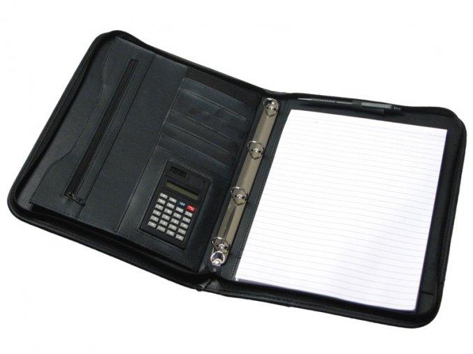 Portfolio A4 s kroužkem + kalkulačka 7715