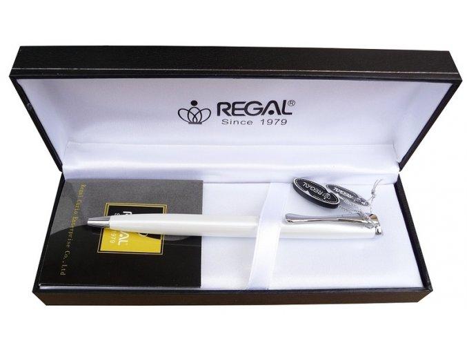 Kuličkové pero Cronos bílé REGAL