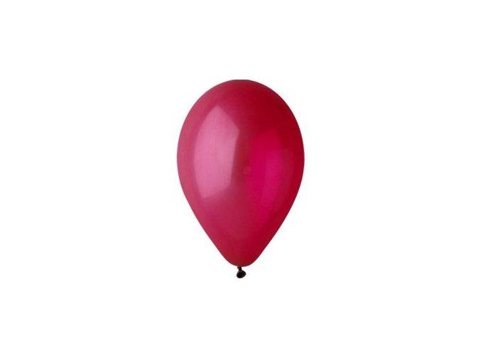 Balónek nafukovací bordeaux kulatý