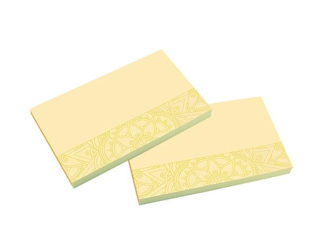 Samolepicí bločky MANDALA , 125 x 75 mm , 100 listů