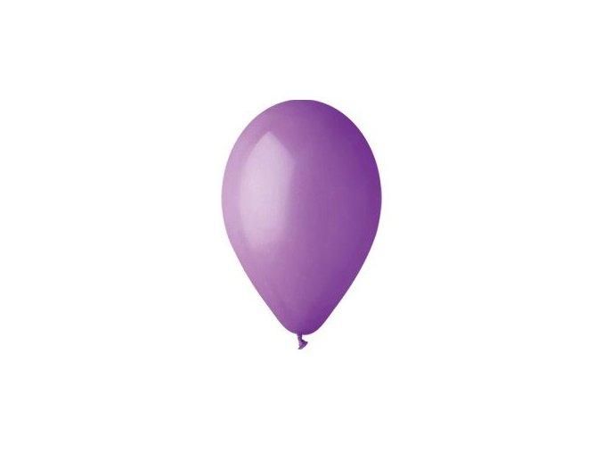 Balónek nafukovací levandulový kulatý
