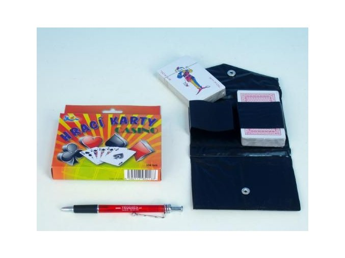 Canasta - hrací karty 108 ks v pouzdru - 3 POSLEDNÍ KUSY -