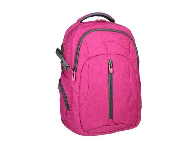 Studentský batoh VINTAGE , růžový