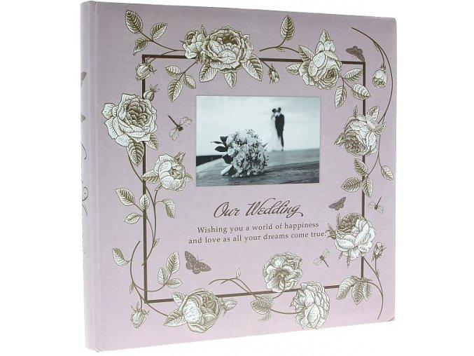 Fotoalbum 29 x 29cm na fotorůžky DRS-30 MAX růžové