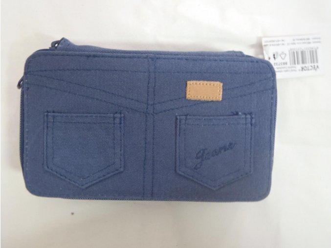 Penál 2 patrový Jeans vybavený