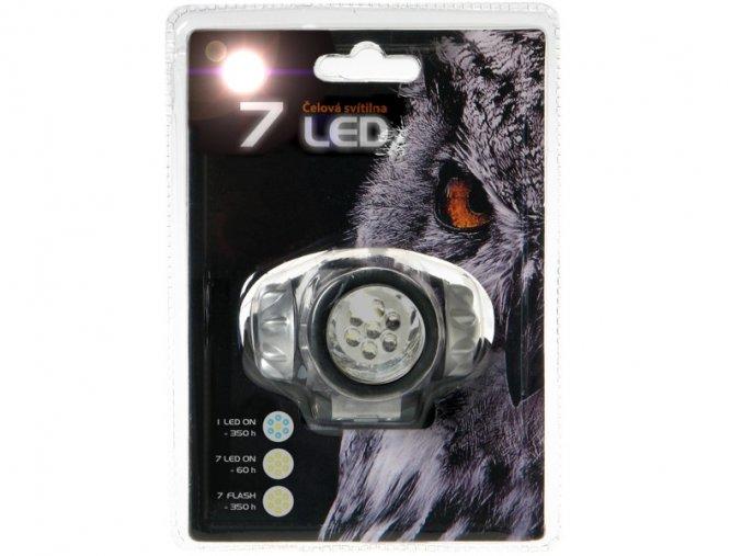Svítilna čelová 7 LED