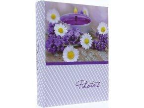 Fotoalbum 10x15/200foto Kd-46200S Lavender sedmikrásky