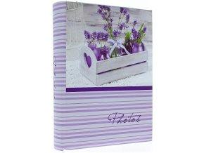 Fotoalbum 10x15/200foto Kd-46200S Lavender vázy