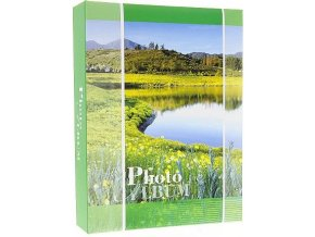 Fotoalbum 10x15/200foto DPH46200 SUMMER2 zelený