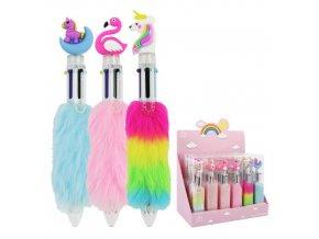 Pero kuličkové - vícebarevné 6 barev