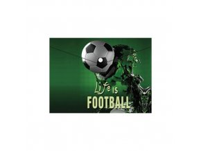 Obal PP s patentkou A5, Football