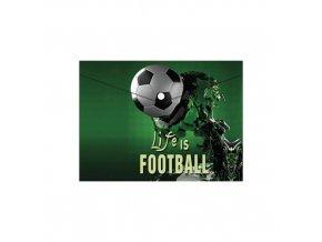 Obal PP s patentkou A5, Football