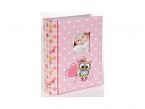 Fotoalbum 10x15/300foto B-46300/2SB Owls 1 růžové