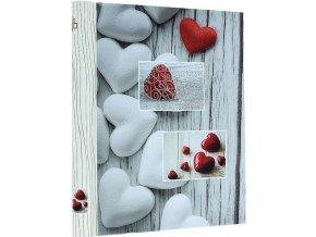 Fotoalbum samolepící DRS-20 Balance červené srdce