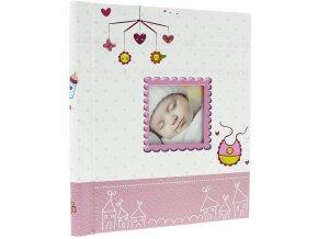 Fotoalbum samolepící DRS-20 Birth růžové