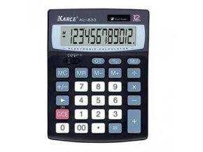 Kalkulačka Karce KC 833 12/Dual