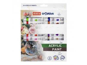 Akrylové barvy 24 ks EASY