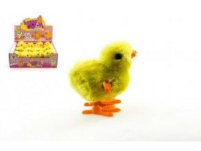 Kuřátko na klíček 8cm plyš 12ks v boxu