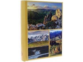 Fotoalbum 10x15/200foto B-46200S World žluté